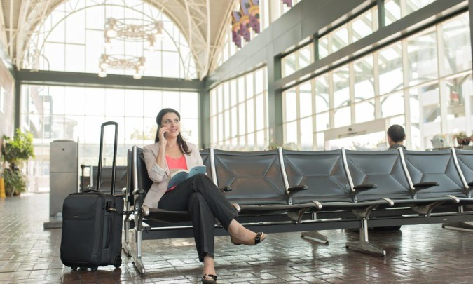 Kensington SecureTrek Lockable Laptop Bags: In the Airport Blog Body Image