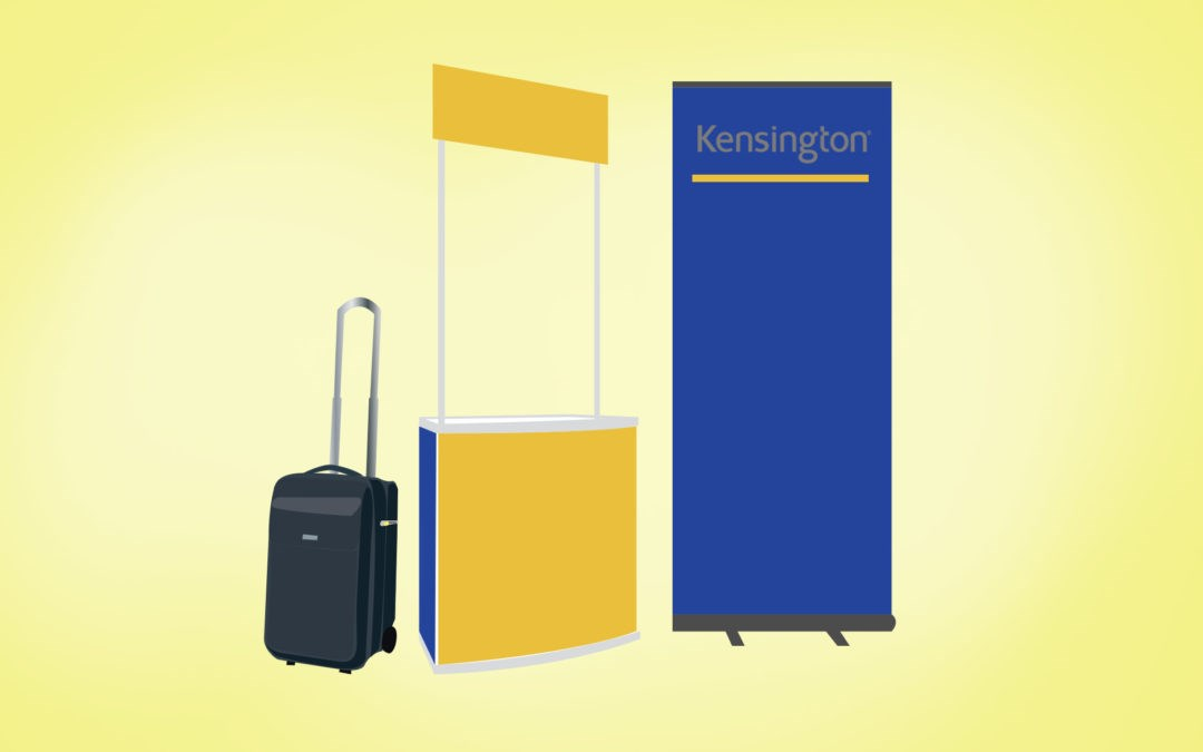 Kensington SecureTrek Lockable Laptop Bags: At a Trade Show Blog Header Image