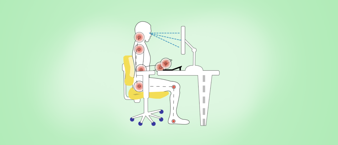 Ergonomics in the Workplace: What is Sitting Down all Day Doing to Us? Blog Header Image