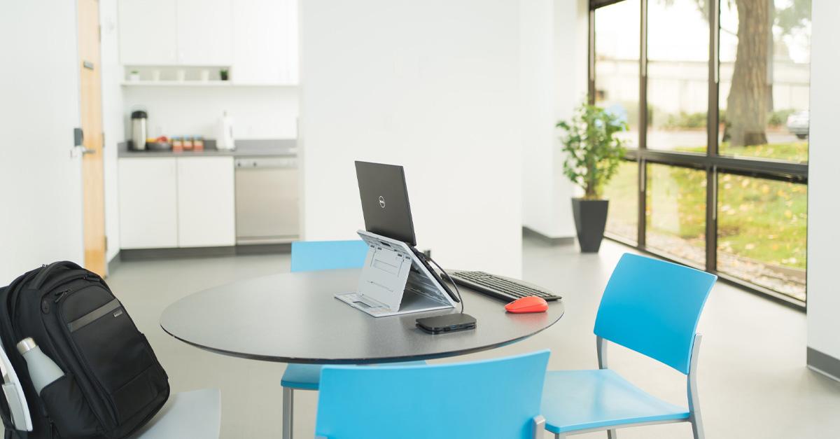 Do Ergonomics Fit Into A Modern Home Office Desk Design Kensington