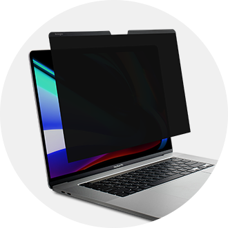 Privacy screen for MacBook
